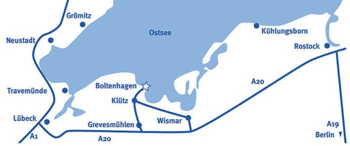 Ostseebad Boltenhagen Karte.Lage Und Anreise Ostseeheilbad Boltenhagen Urlaub An Der Ostsee