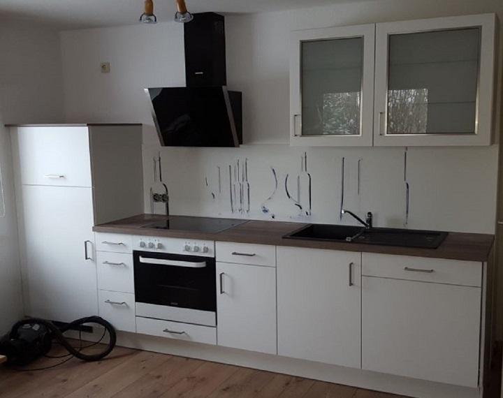 seit 2019 - neue komplett ausgestattete Küche